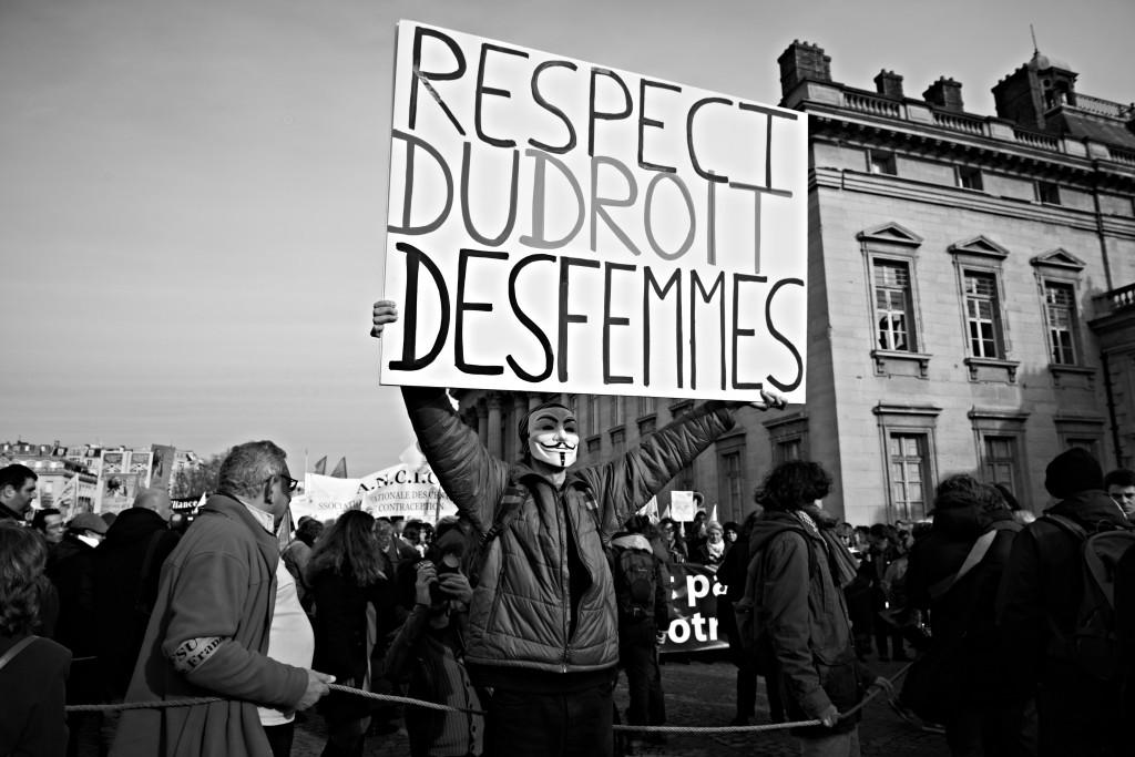 respect du droit des femmes